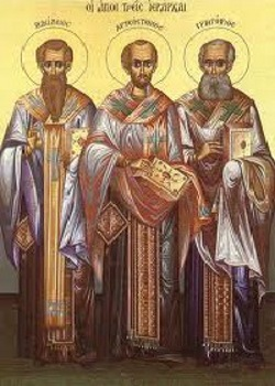 Το the three Hierarchs. 30 of January