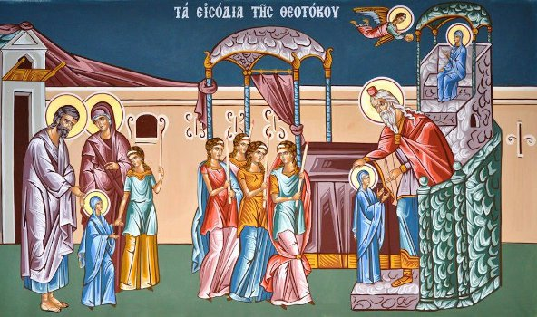 The entrance of the Theotokos. 21 st of November